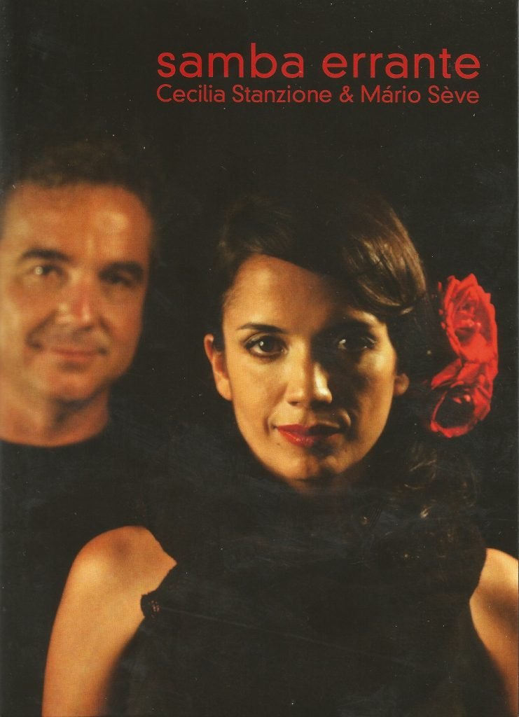 Capa DVD Cecilia Stanzione e Mario Seve Samba Errante 741x1024 Musicalmente indispensável