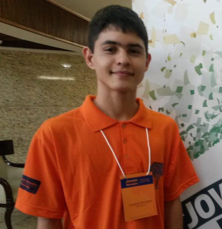 Foto14 Leonardo da Silva Brito  Estudante brasileiro é aprovado em Harvard