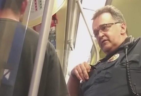 Policial ferroviário é flagrado perguntando status migratório a passageiro