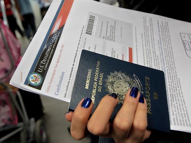 Foto2 Passaporte brasileiro2 Vistos negados para brasileiros triplicaram com Obama