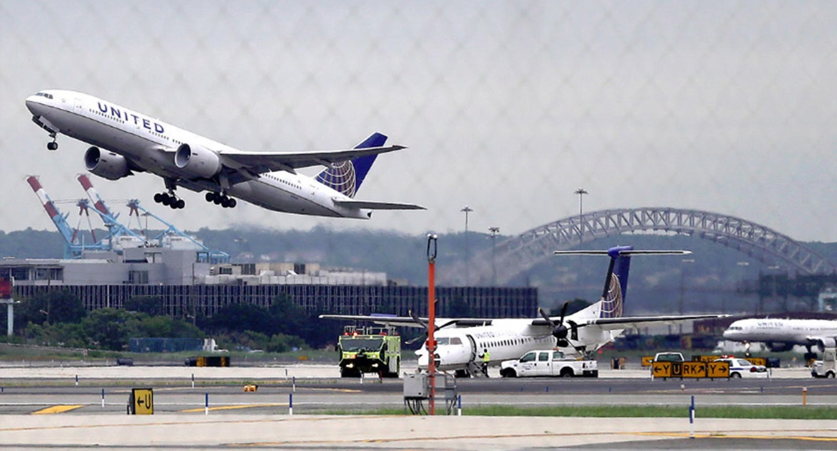 Aeroporto Newark : Foto aeroporto internacional de newark