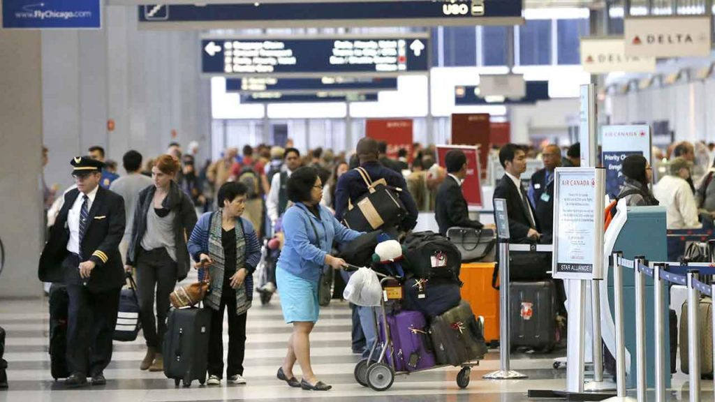 Foto11 Check in no aeroporto 1024x576 United cancela check in online para classe econômica