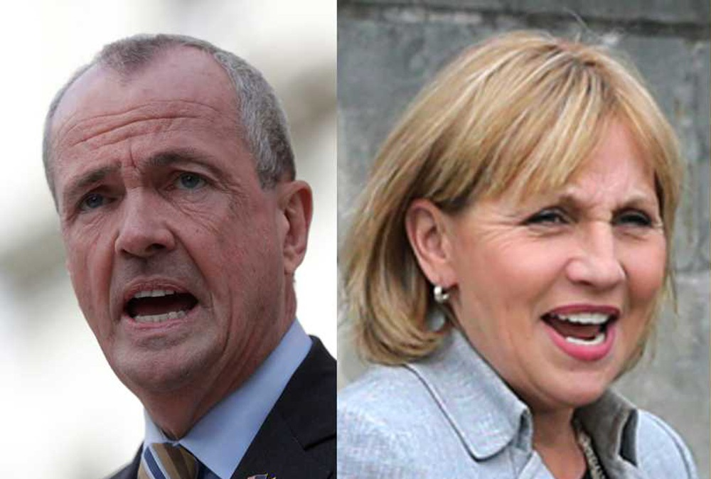 Foto12 Phil Murphy e Kim Guadagno Murphy lidera Guadagno na disputa para governador