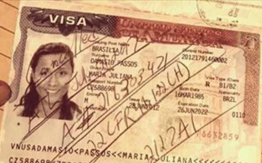 Foto23 Maria Juliana Passos 1024x639 Brasileira é barrada e tem visto cancelado em aeroporto dos EUA