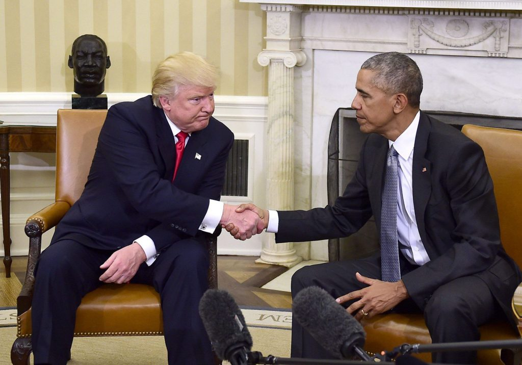 Foto27 Donald Trump e Barack Obama 1024x716 Cai o número de países que não recebem cidadãos deportados por Trump