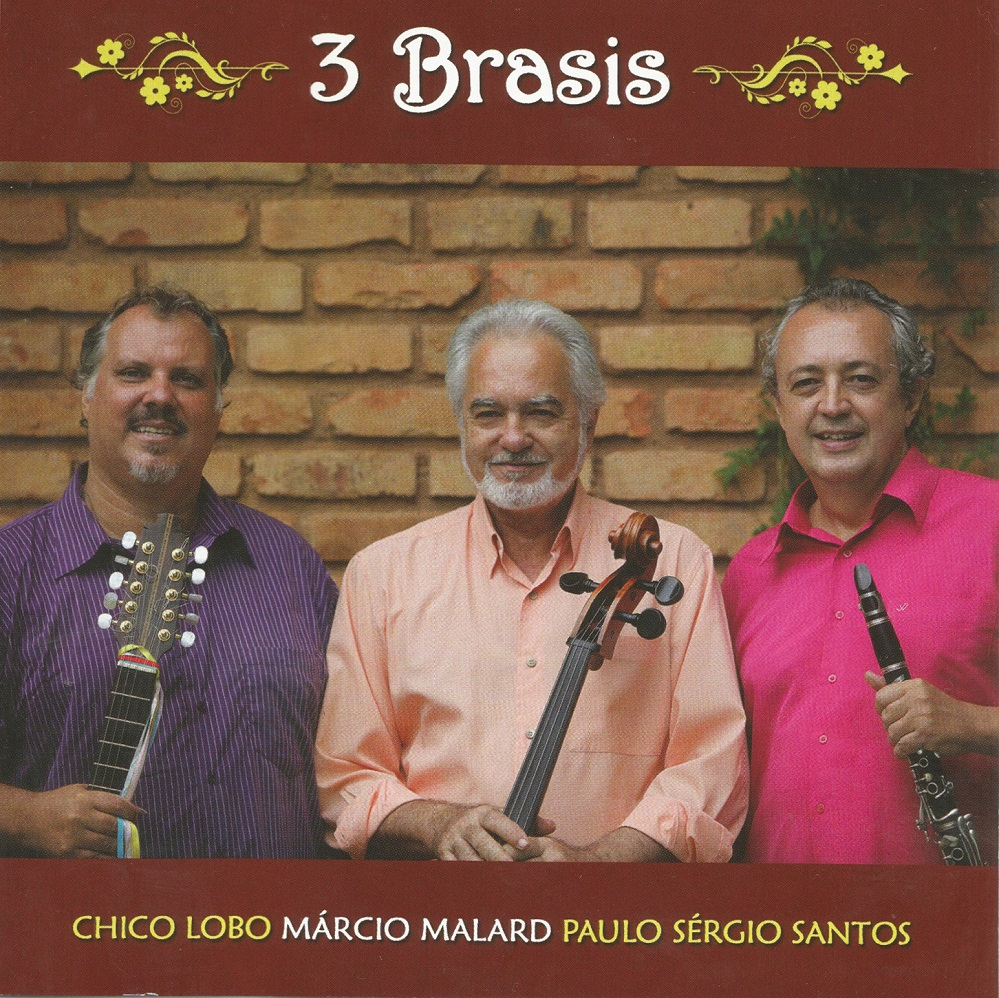 Capa CD Chico Lobo Marcio Malard e Paulo Sergio Santos Bonito, muito bonito, quase sublime