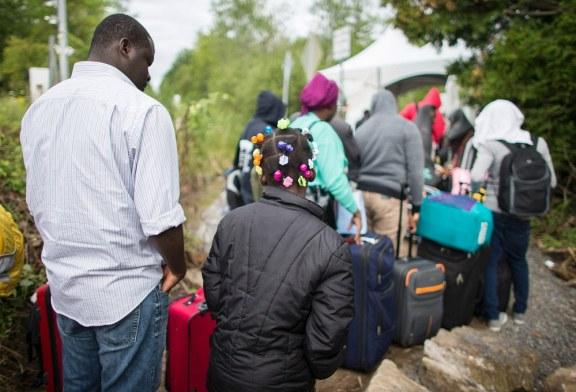 Triplicam os imigrantes nos EUA que buscam asilo no Canadá