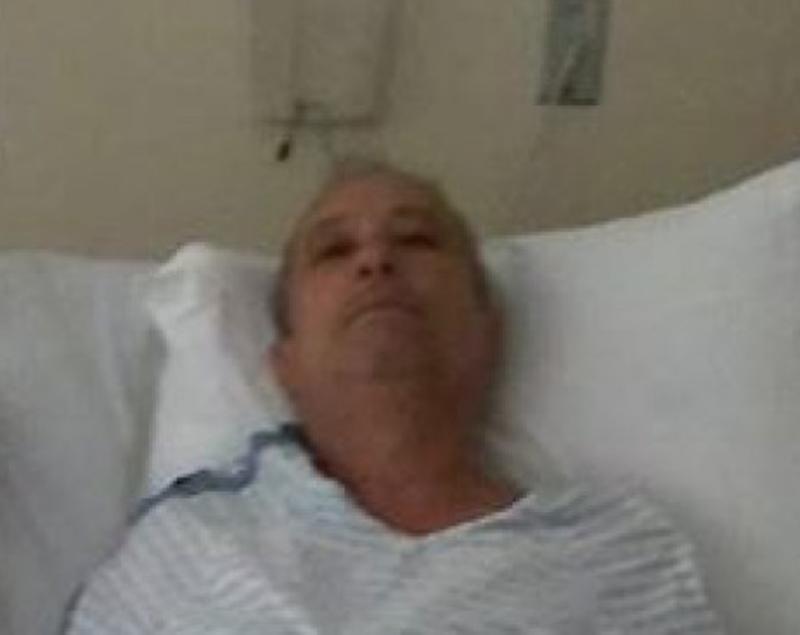 Foto23 Mane Souza  Brasileiro internado com problemas cardíacos pede ajuda em Nova York