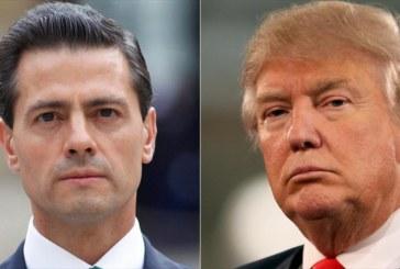 """Trump tenta """"abafar"""" recusa do México em pagar pelo muro"""