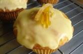Muffins de gengibre com limão