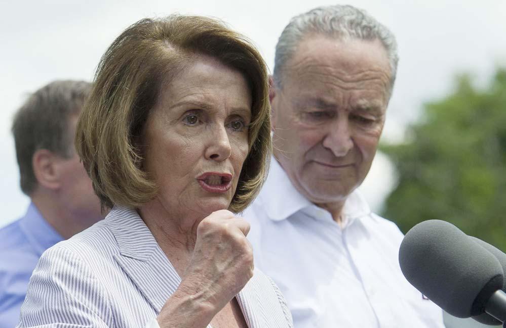 Foto4 Nancy Pelosi e Chuck Schumer Acordo entre Trump e democratas pode salvar DREAMers