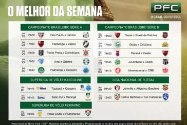 Semana de grandes clássicos brasileiros