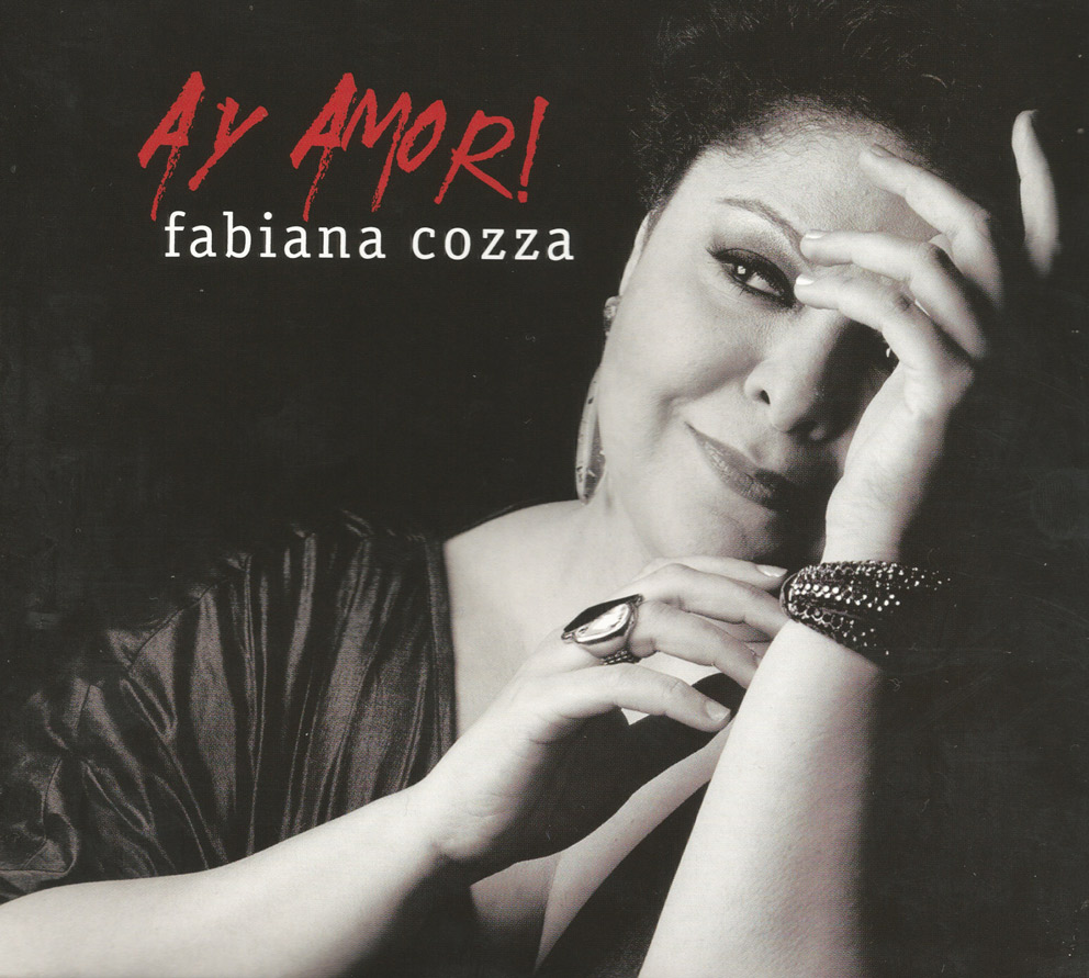 Capa CD Fabiana Cozza E agora estou eu aqui comovido...