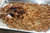 Castanha de caju ao curry com sementes de gergelim e girassol