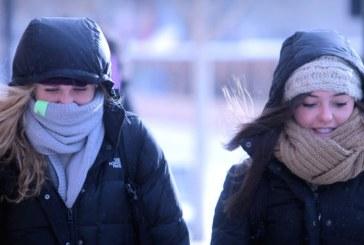"""Frente ártica fará temperatura """"despencar"""" em NJ"""