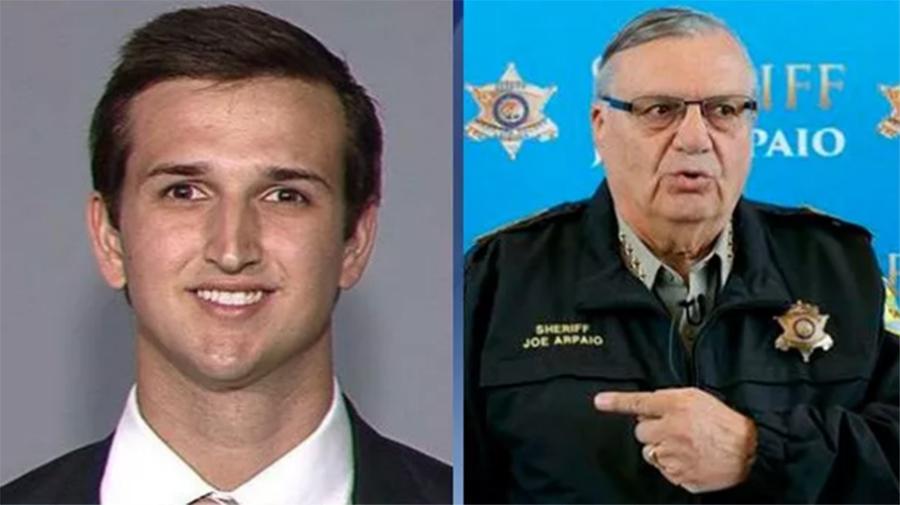 """Foto15 Austin Flake e Joe Arpaio Arpaio é processado por tentar """"sabotar"""" Senador Jeff Flake"""