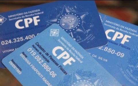 Foto33 CPF CPF poderá ser adotado como identificação nacional do cidadão