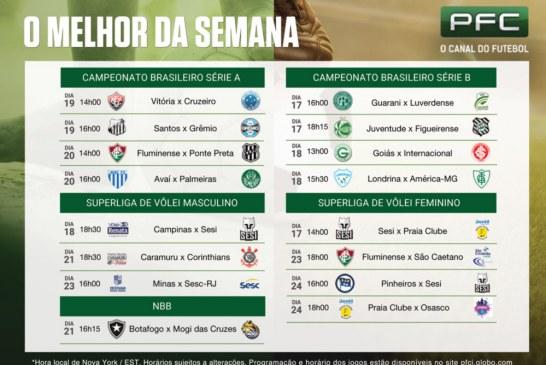 Campeonato Brasileiro segue a todo vapor, com disputa por vaga na Libertadores