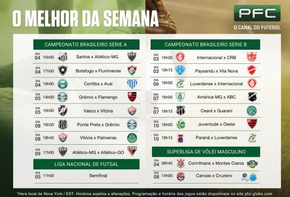 Semana decisiva no campeonato brasileiro