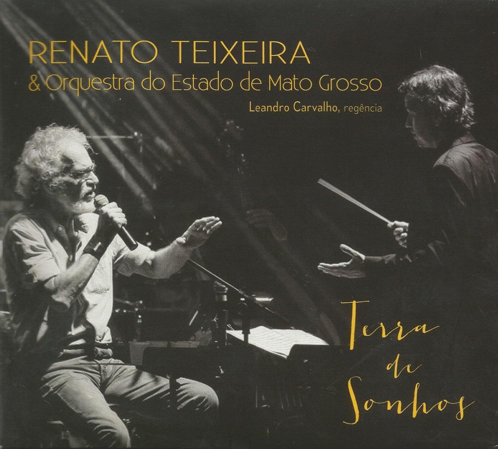 Capa CD Renato Teixeira Orquestra do Estado de Mato Grosso O arauto popular