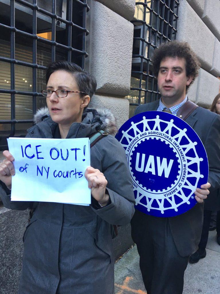 Foto21 Advogados de imigracao 768x1024 Ativistas de NY querem agentes do ICE fora dos tribunais
