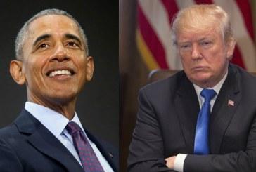 Obama é mais popular que Trump, diz pesquisa