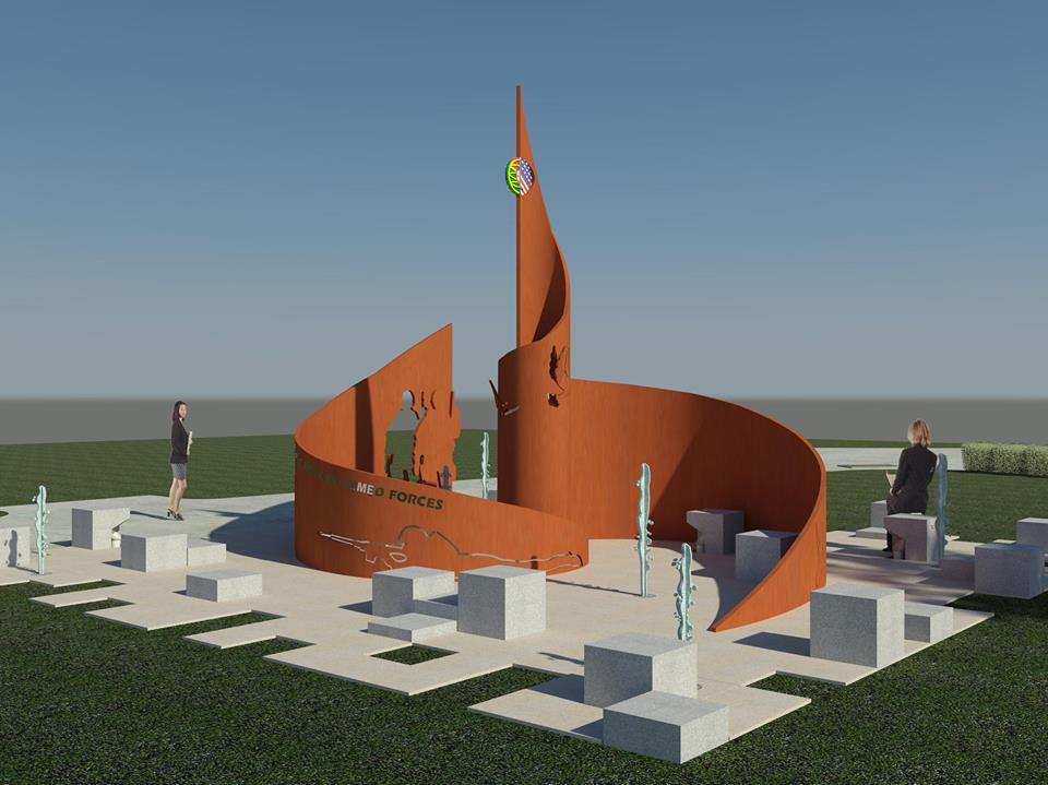 Foto11 Monumento no Parque Peter Francisco Portugal fará doação para construção de monumento no Ironbound