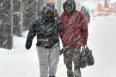 Após nevasca, frente fria assola região metropolitana de NY