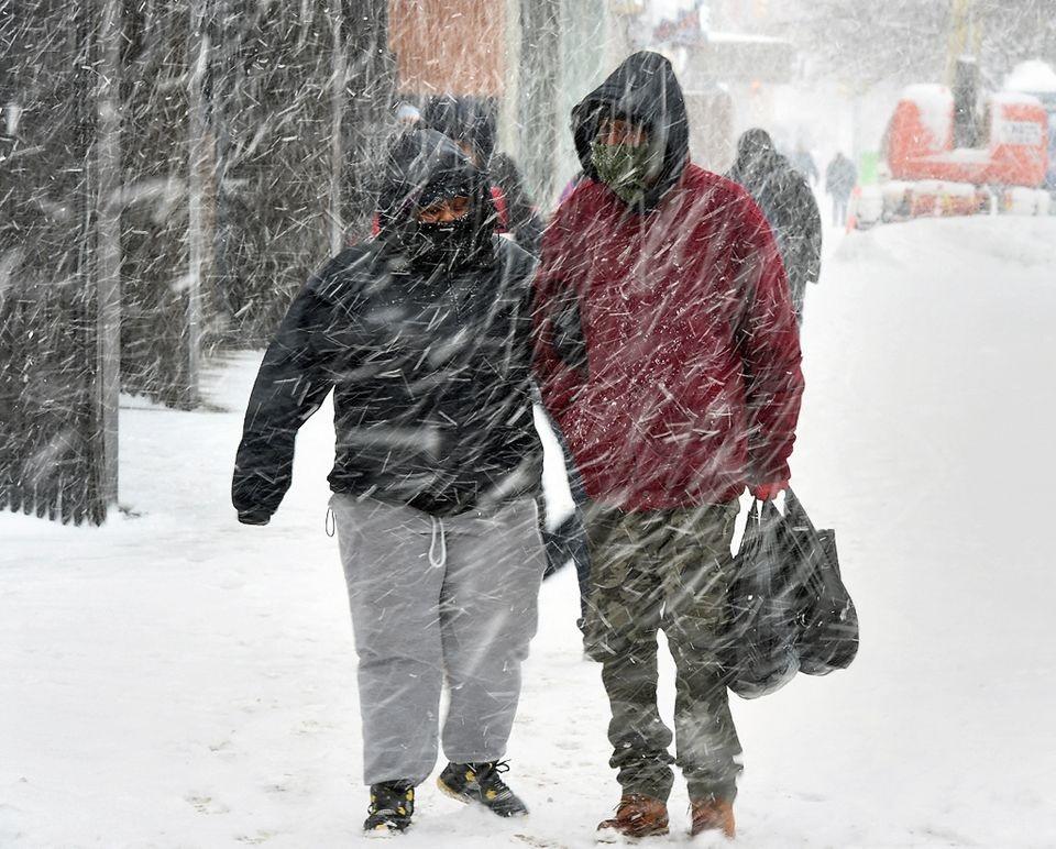 Foto13 Dia frio em NYC5764 Após nevasca, frente fria assola região metropolitana de NY