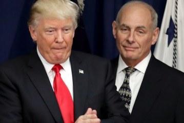 Não construiremos o muro todo do Trump, diz Kelly