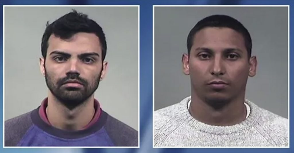 Foto14 Felipe Pena e Antonio Oliveira Neto 1024x533 Brasileiros são acusados de roubar mais de US$ 139 mil em caixas eletrônicos