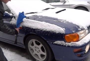 NJ: Motoristas podem ser multados por não tirar neve de carros