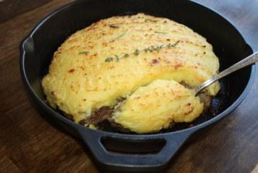 Hambúrguer com purê de batatas – Hachis Parmentier