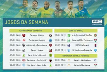 Clássico carioca agita programação do PFC