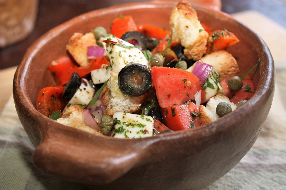 Salada panzanella5531 Salada Panzanella