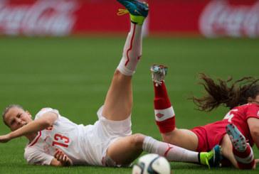 Teste de futebol para as mulheres