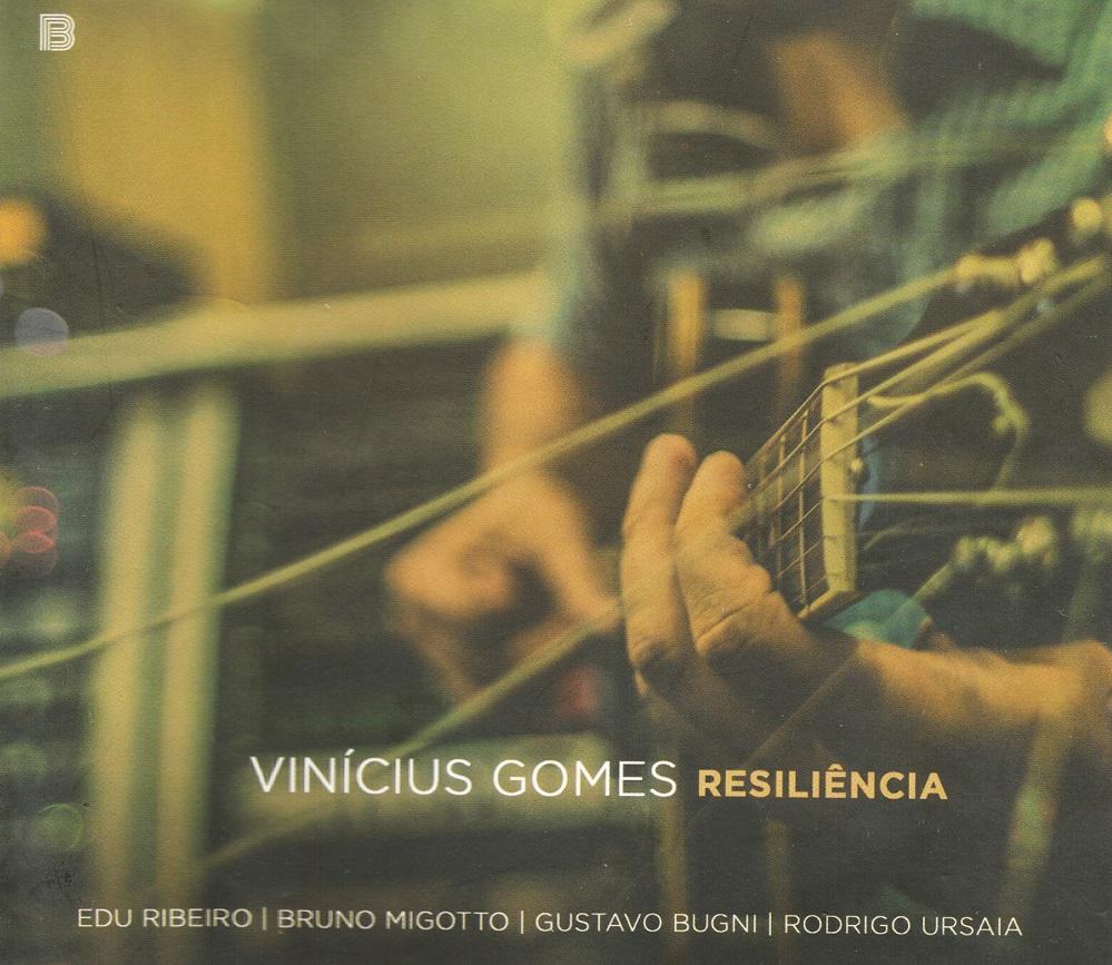 Capa CD Vinicius Gomes Uma hora do mais opulento jazz Brasil