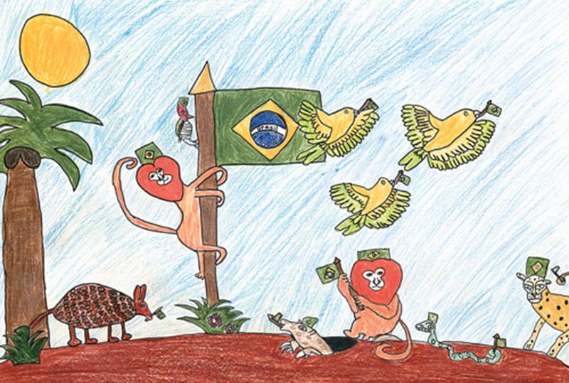 """Foto16 Concurso Brasileirinhos no Mundo Estão abertas as inscrições para o concurso """"Brasileirinhos no Mundo VII"""""""
