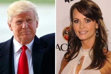 Modelo da Playboy alega ter tido caso com Trump