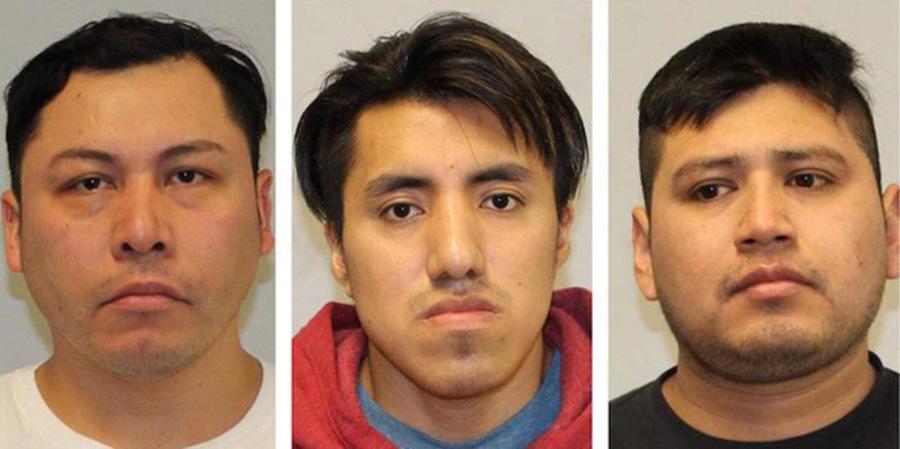 Foto2 Emeterio Castelan Luis Tenecela e Rene Jimenez Ice manda prender três acusados de estupro