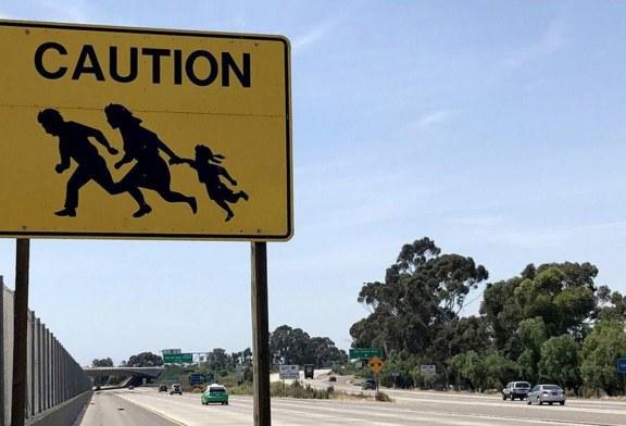 """Última placa """"símbolo"""" da imigração clandestina desaparece na CA"""