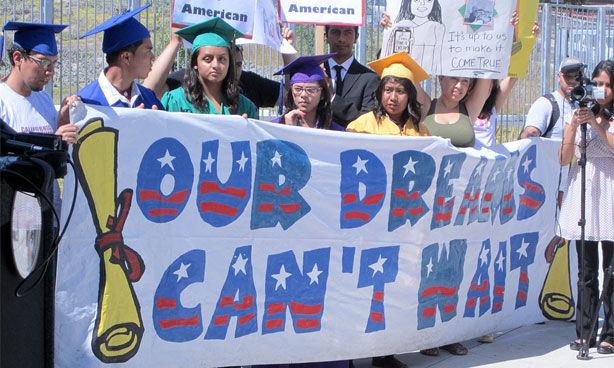 Foto27 Protesto Dreamers Imigração: Americanos se aproximam mais de democratas que de Trump