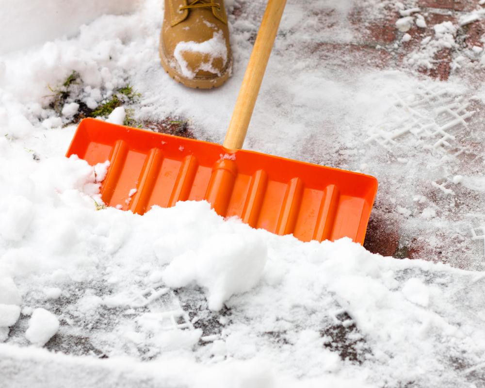 Foto3 Retirando neve O inverno acabou em New Jersey?!