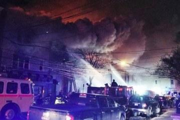 Incêndio destrói prédios e desabriga brasileiros em Newark