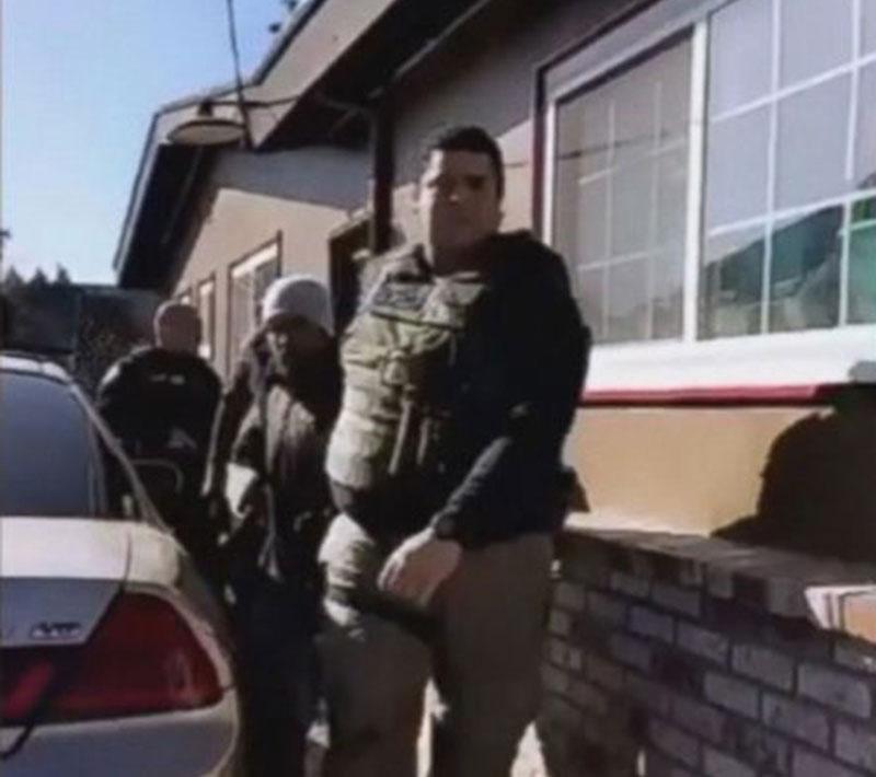 Foto31 X Imigração prende indocumentado que cuidava do quintal na CA