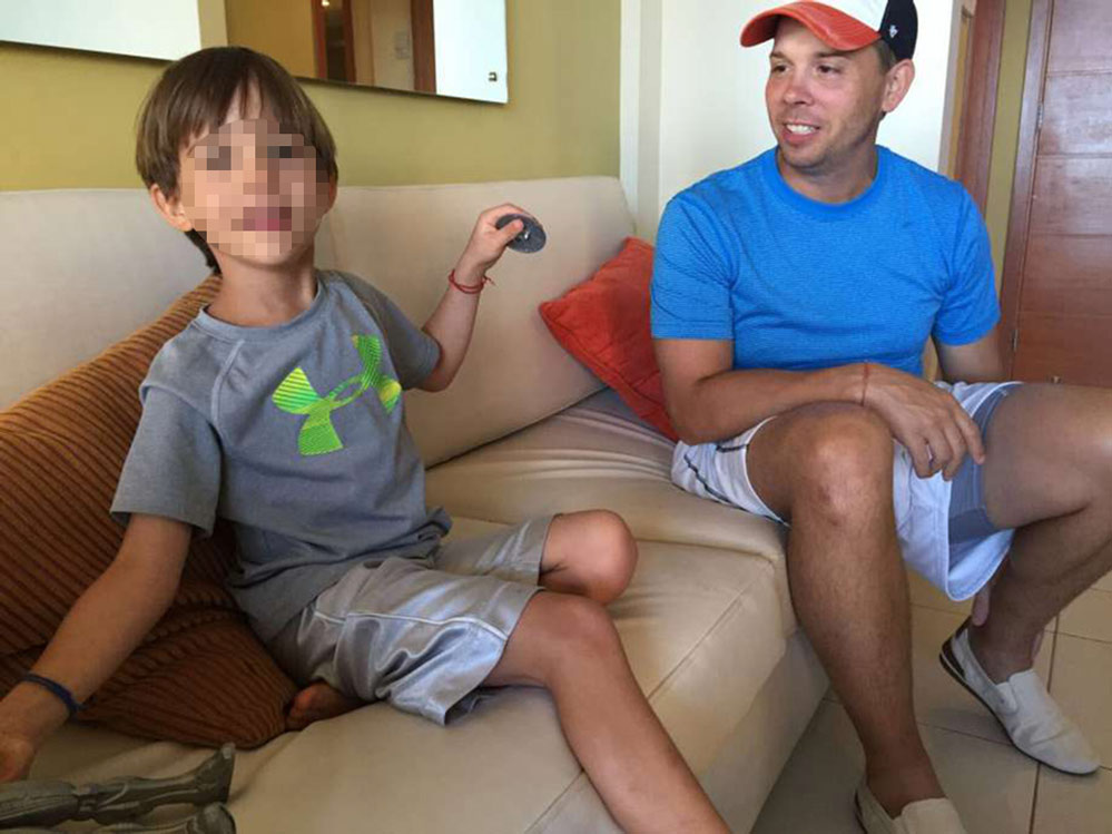 Foto5 Nicolas e Chris Brann Avós brasileiros são presos em Miami por sequestro do neto