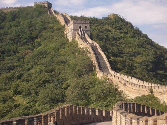 great wall of china mutianyu 4 Grande muralha