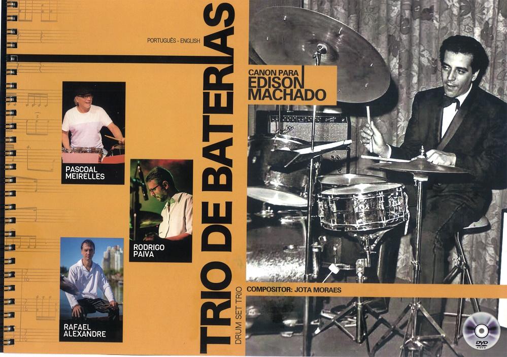 Capa livro DVD Trio de baterias Magnífico trabalho