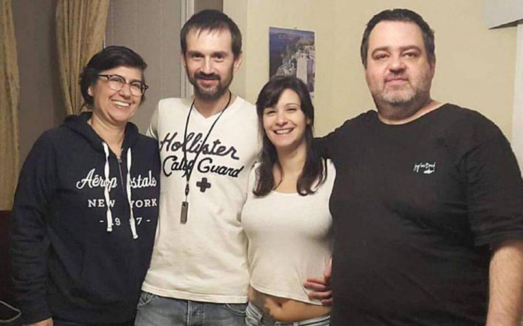 Foto23 Daniel Campos e Gabriela Paz Brasileiros que tentaram fugir dos EUA com filha recém nascida são liberados