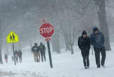 Tempestade pode acumular até 3 polegadas de neve